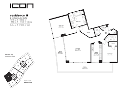 Icon Condo Floor Plan by Icon South Beach Floor Plans