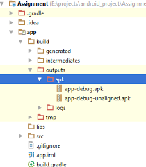 where are apk files stored apk location in new android studio stack overflow