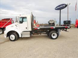 used kenworth dump trucks used 2007 kenworth t300 pre emission flatbed dump truck for sale