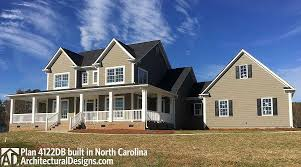 plan 4122wm country home plan with marvelous porches porch
