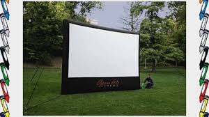 elite screens 200 inch 16 9 yard master outdoor theater portable