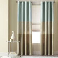 Blue And Brown Curtains Beautiful Blue And Brown Curtains Curtain Pinterest Striped