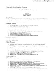 hospital resume exles resume for hospital hospital resume resume exle hospital