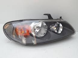 nissan almera zderzak przedni nissan almera n16 prawa lampa przód oryginal części karoserii