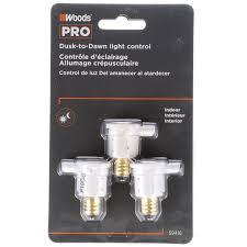 Westek Outdoor Timer by Woods 59416wd Indoor Candelabra Light Sensor Socket With Photocell