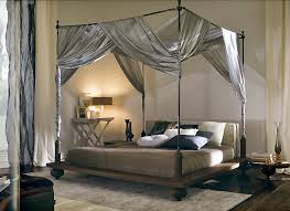 four poster bed all dolled up for a boutique style guest room