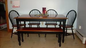 walmart dining room sets better homes and gardens autumn farmhouse dining table black