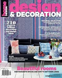 design and decoration magazine issue 5 2014 subscriptions