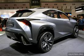 lexus lf nx lexus nx crossover to debut at next month u0027s beijing show