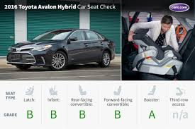 toyota avalon type 2016 toyota avalon hybrid car seat check cars com