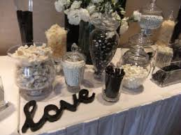 Black And White Candy Buffet Ideas by 59 Best Candy Bar Black Images On Pinterest Black And White