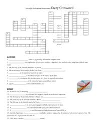 earth science grade 6 chapter 5 crossword puzzle