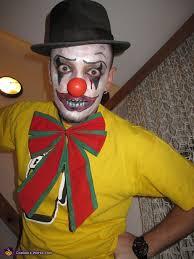 Pikachu Halloween Costume Men Evil Clown Halloween Costume Photo 3 4