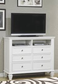 White Bedroom Dressers And Chests Sandy Beach White Storage Bedroom Collection