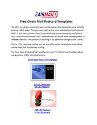 free direct mail postcard templates by seowebmaster issuu