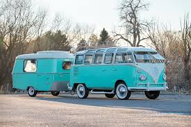 new volkswagen bus this volkswagen bus and camper combo are vintage vw royalty