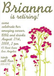 free retirement invitation templates marialonghi com