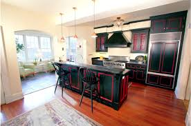 modern gourmet kitchen historic monument avenue home in richmond virginia virginia
