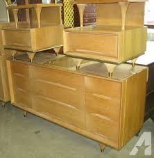 mid century modern bedroom sets vintage mid century modern kent coffey elegante 3 piece bedroom