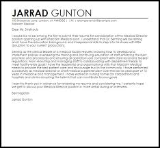 resume for director position medical director cover letter sample livecareer