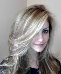 hilites for grey or white hair collections of blonde hair with white highlights cute