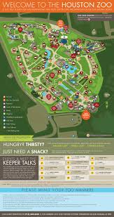 Dallas Zoo Map by Zoos Houston Zoo