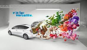 Toyota Prius Branding Caign In China Toyota Prius V Caign By Serial Cut Via Behance Advertising