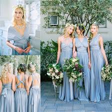 dusty bridesmaid dress bridesmaid dresses with dusty blue skirt for 2017 summer