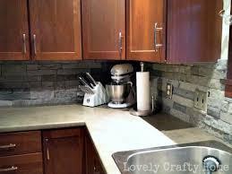 airstone project kitchen backsplash