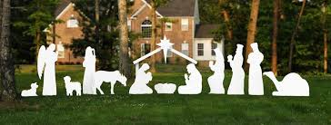 outdoor nativity store home