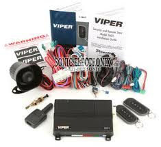 viper 5601 1 way security system and remote start