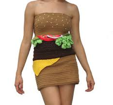 something to wear while lounging on your hamburger bed lmnop