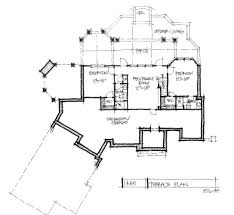 conceptual home design 1445 hillside walkout basement floor