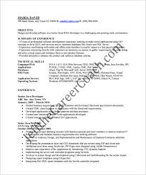 java developer resume java developer resume template 14 free sles exles format