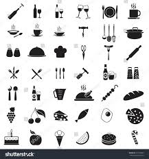 drink vector kitchen tools icon set food drink stock vector 215706025