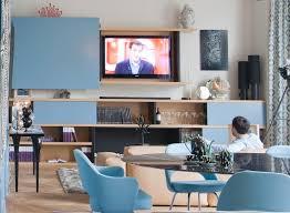 meuble tv caché comment aménager coin télé