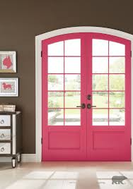 update your entryway with a bold color from behr paint to give