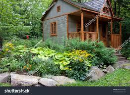 Summer House In Garden - small summer house forest stock photo 60037688 shutterstock