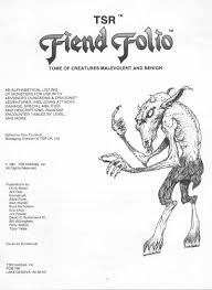 dungeons and dragons 1st edition fiend folio pdf flipbook