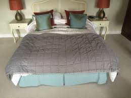 laura ashley girls bedding laura ashley u0027mia u0027 beaded double bedspread throw quilt in grey