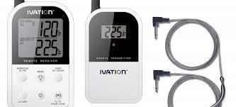 termometri a sonda per alimenti termometro doppia sonda wireless ivation passionebbq it