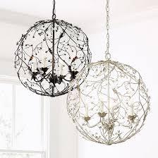 Orb Ceiling Light 4 Light Orb Chandelier Ballard Designs