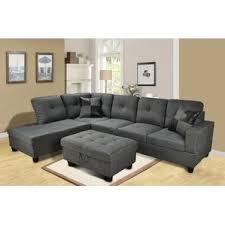 Gray Microfiber Sectional Sofa by Microfiber Sectional Sofas You U0027ll Love Wayfair