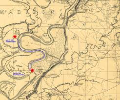 Louisiana On Map by April 28 1863