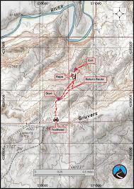 Wyoming Topo Map Canyoneering Gruver Slot San Rafael Desert Road Trip Ryan