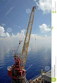 offshore rig crane royalty free stock photos image 3125628