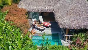 garden pool bungalows