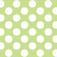 Polka Dot Wallpaper Dot Green White Removable Wallpaper