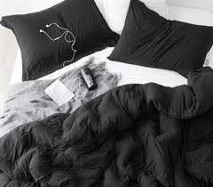 Softest Comforter Ever Best 25 Black Comforter Ideas On Pinterest Black Comforter Sets