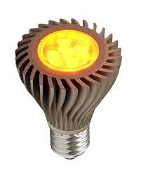 led r20 amber spot turtle light bulb 6 watts fwc wildlife
